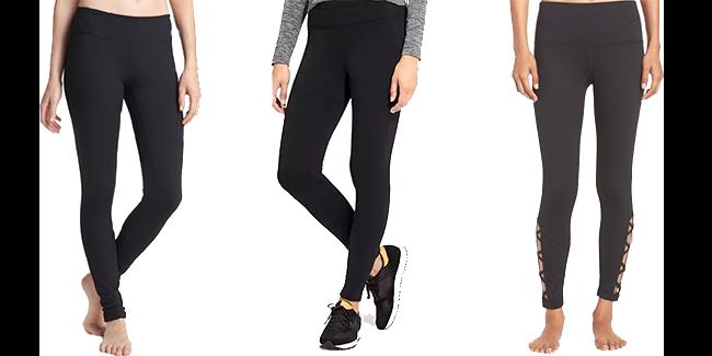 1  Zella Leggings2  Fleece Lined3  Cutout Leggings