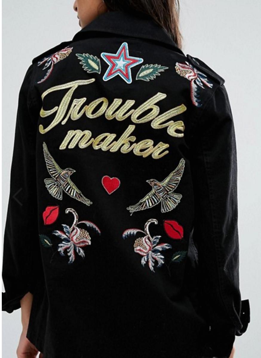 ASOS Trouble Maker Jacket
