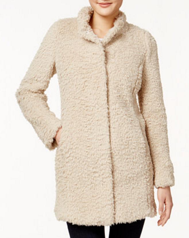 Kenneth Cole Teddy Bear Coat