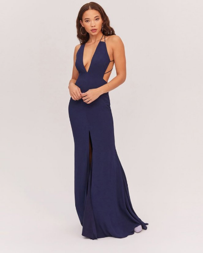 fame-and-partners-navy-dress