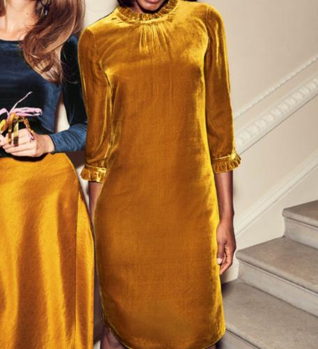 boden-mustard-velvet-dress