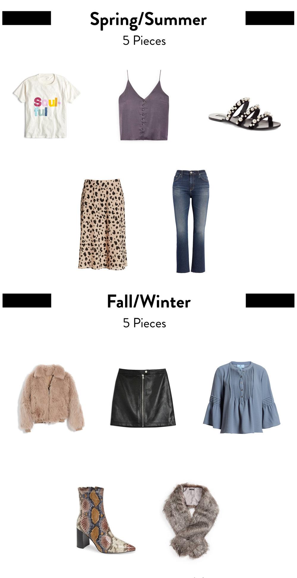 5-piece-french-wardrobe-statement-pieces