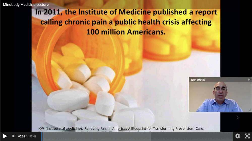 Dr John Stracks mindbody medicine webinar