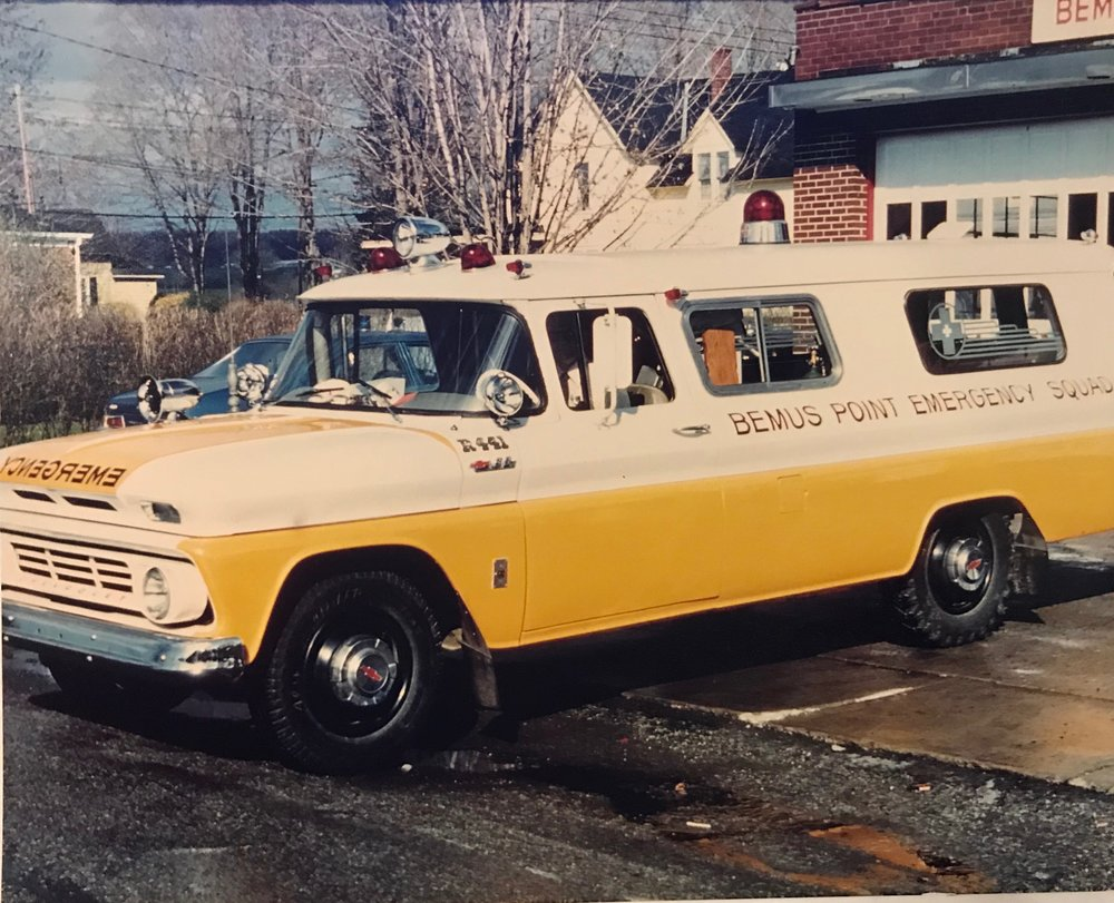 - 1962 Chevrolet Suburban Panel Truck - R431 / R441 - replaced the 1952 M-46 truck. Originally all white color, repainted to white and yellow in 1975. Remained in service through 1979.