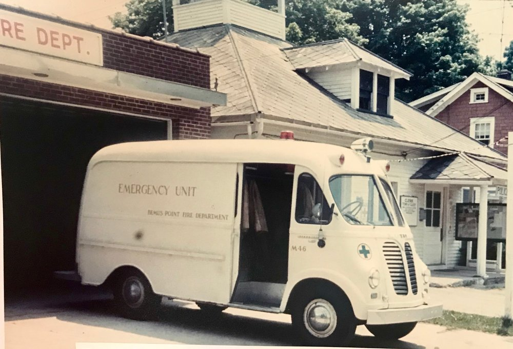 - 1952 International Rescue Equipment Truck M46 - This was the department's first transport vehicle. Prior to this truck, local funeral home hearses were used to transport victims. This vehicle was used until 1962
