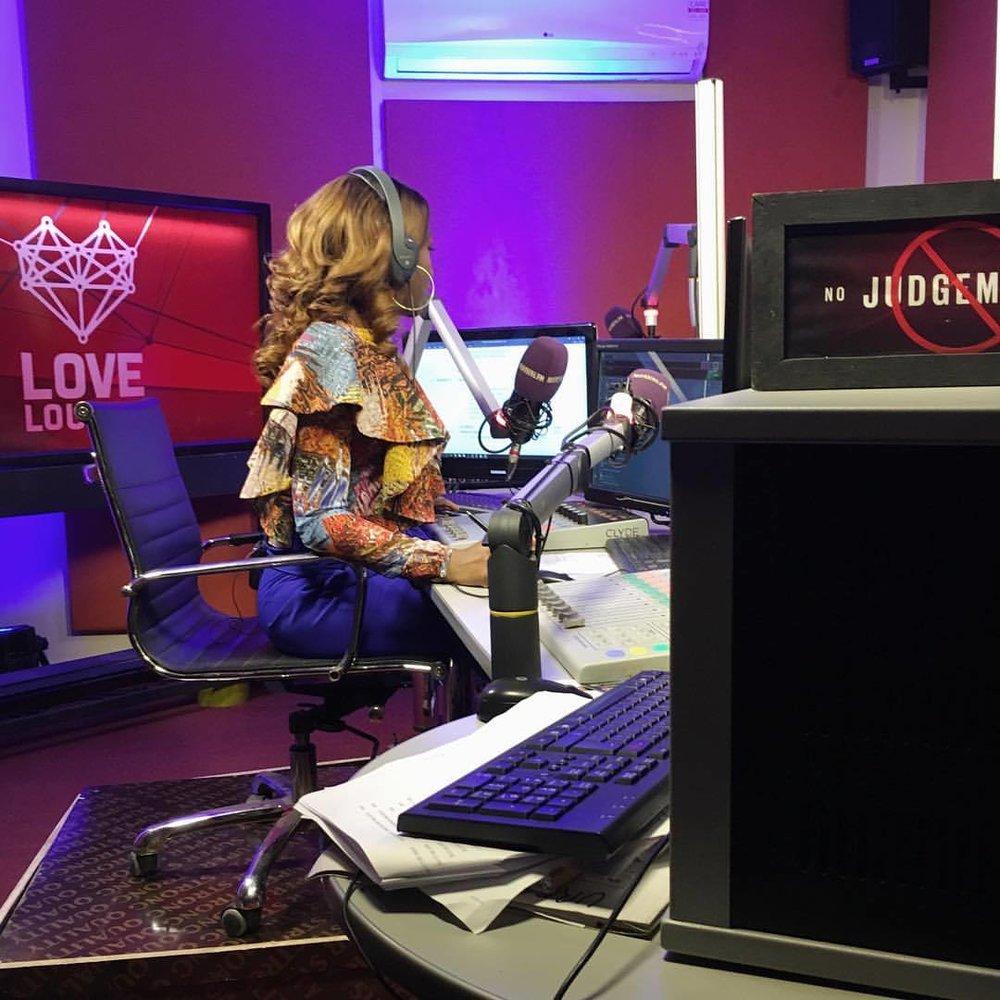 Issa collaboration: @ebonylifetv X @urban96fm  #TeamWorkMakesTheDreamWork   #LoveLounge   (at Lekki, Lagos, Nigeria)