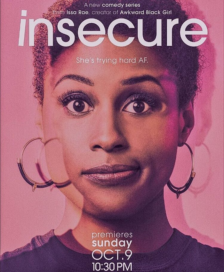 @issarae stays doing it for #AwkwardBlackGirls everywhere; reminding me to power through in spite of my insecurities.