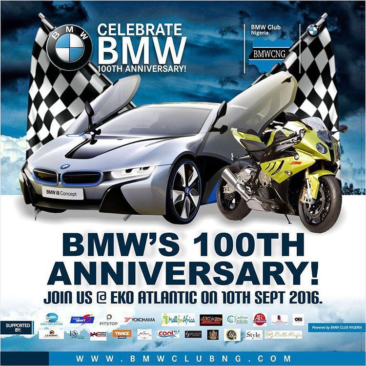 Something awesome to look forward to. 10th September will be (dare I say it) major 🔑🗝😋       @bmwclubnigeria #BMWCNG100