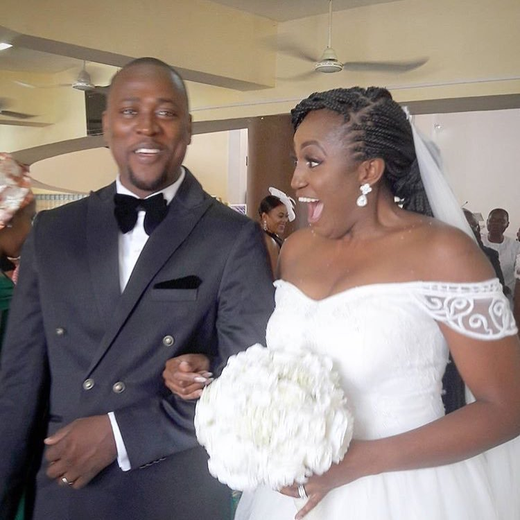 On a day like today, we celebrate our own. And love! Congratulations @djx_el and @omaliicha aka #TheHughes2016