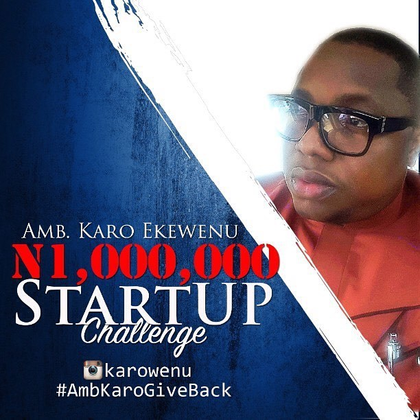I am posting this because @ejiroonobrakpor told me about it and I figure someone could use the money to kick off their 2016 small business. If you missed it earlier, @karowenu is giving away one million naira today, 31st December 2015. All you need is an idea. Share it on your wall and tag @karowenu. The idea that generates the most likes starts 2016 one million naira richer.     Donald Trump claims his good fortune started with a $1m dollar injection. What will you do with N1mil?   #AmbKaroGoveBack  #AngelInvestor   #StartUpCapital
