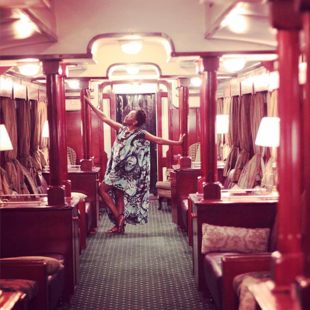 When you go to #Zambia, you must do the eight course meal on the #RoyalLivingstoneExpress  steam train that operates on the #Mulobezi line out of #Livingstone. Tell them @wakanowdotcom's #DestinationsAfrica sent you. Perfect for sightseeing, proposals, engagement parties, anniversaries, vow renewals, photo shoots too ☺️