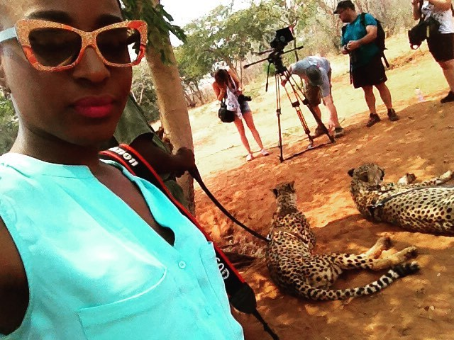 Hanging out with Susan and Lilly #WakaNow vacation packages take you inside the Africa you really must explore. #DestinationsAfrica #Zambia #ELTV #Vacation #Adventure #Safari