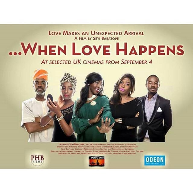 Come 4th September, my UK friends and family will get to see #WhenLoveHappens. How excited am I? Very!