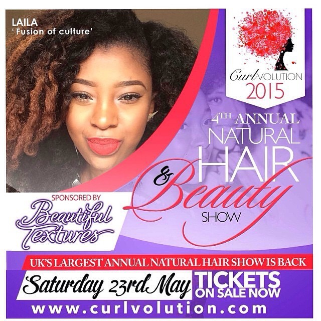 If you won't be in Lagos on the 16th May, London's calling on the 23rd May. Check @curlvolution for more information.