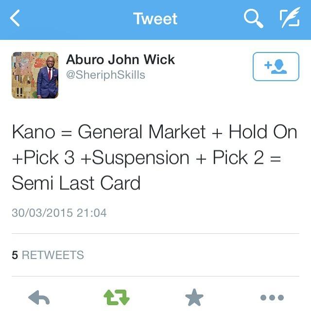 😂 #Nigeria2015 #NigeriaDecides