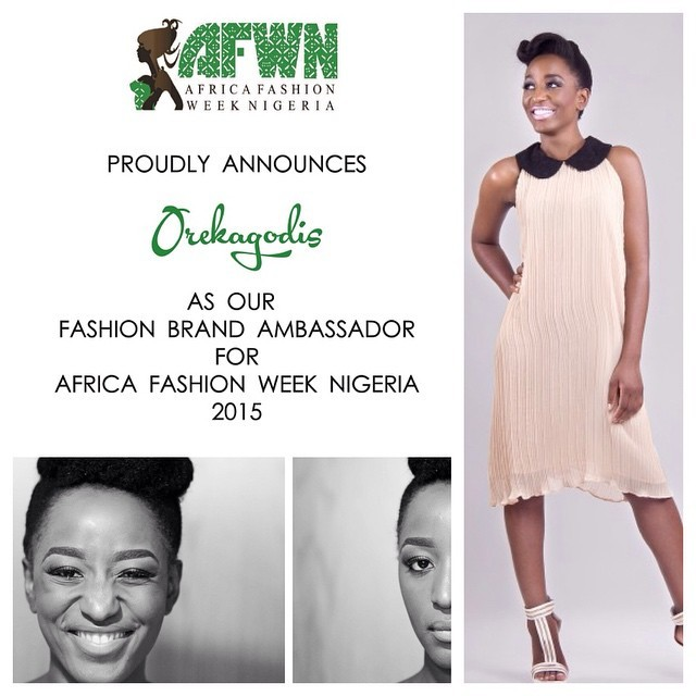 #OTown representing #AFWN2015. Peep @afwlandafwn for all enquiries & join us on the 23rd & 24th May 2015. #BuyNigerian #EBS