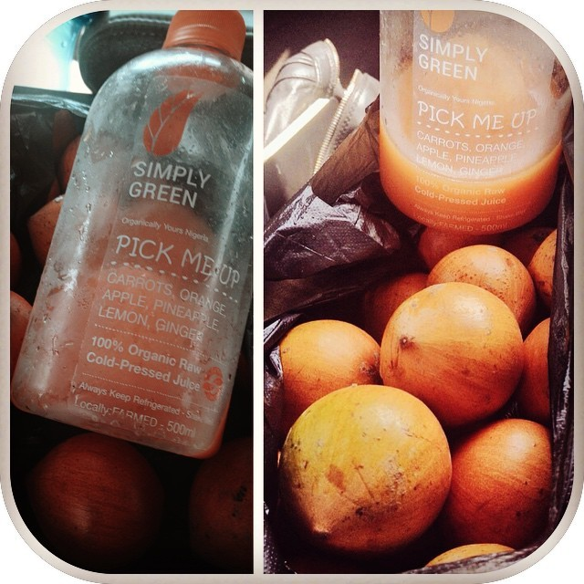 If your plans today do not include #agbalumo and this awesome #PickMeUp from @SimplyGreenJuices, I feel bad for you son. I have 99 problems and #VitaminC isn't one *fist pumps*  🙌      #AfricanStarApple #StreetFood #Healthy #Snack #GetInThere #GetInMyBelly #ExceptForThePartOfAgbalumoThatTransitionsToChewingGum #iWillBeChewingYouHappilyForHours MultifacetedFruit #AfricanCherry #HaveAtIt #SuckIt #LocallyFarmed #SimplyGreenJuice #SimplyGreenJuices