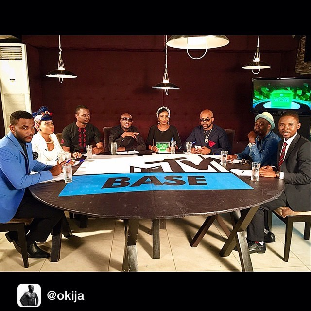 Repost from @okija       So this aired yesterday… The @mtvbaseafrica Roundtable: #MTVBaseChooseOrLose with @yemialade, @stanleyazuakola, @2faceidibia1, @orekagodis, @bankywellington, @soundsultan and @omojuwa. Look out for reruns as we discuss the upcoming elections in Nigeria
