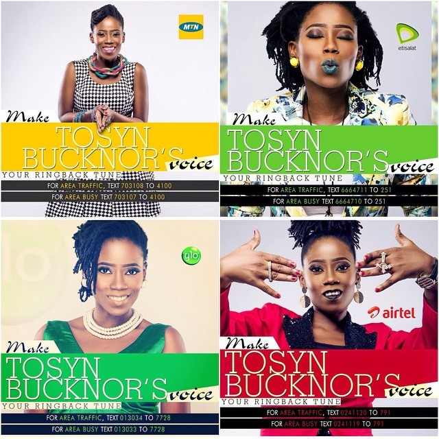 Did you know that you can make #TheVoiceOfLagos @tosynbucknor your ring back tune on any network? Do it for the vine. Areaaaaa!