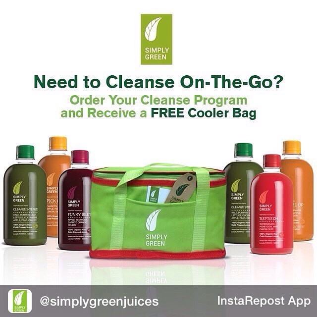 Repost from @simplygreenjuices Start your week off right with one of our Simply Green Cleanse Programs On-The-Go. We will deliver to your door in our new cooler bags so you can always have your juices cold On-The-Go. Order today on  www.simplygreenjuice.com  or call 08189009009. Don't forget to watch this space as we will be giving away amazing freebies for all our customers. Why? Simply because we can! #simplygreenjuices #coldpressed #coldpressedjuices #cleanseonthego #detox #organic #vegan #healthy #lifestyle #proudlynigerian