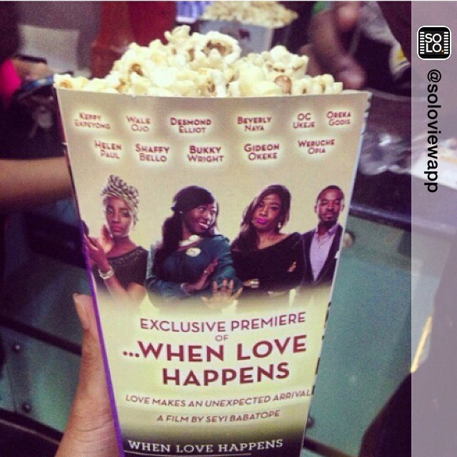 Repost from @soloviewapp 'Pop corn anyone? Counting down to #SOLOView launch.  Download 5 Nollywood  movies for 500Naira only!'