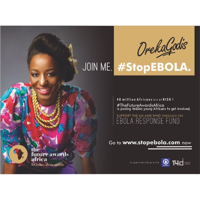 We may be Ebola-free but 40 million Africans are still at risk!  JOIN ME #StopEbola