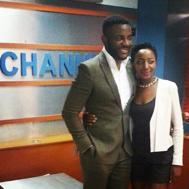 Sunday on #RubbinMinds where @okija refused to reveal his secret (I'm sure) bride-to-be. I'm watching all the 'single' guys in the entertainment industry now. You WILL be ousted. ☺️#ChannelsTV #YNaija #KogiElite #OgoriBabe on a mission.