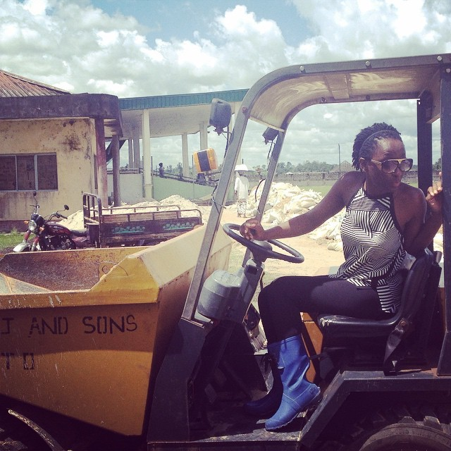 On my #Wretch32 #Traktor somewhere in #Nembe #Bayelsa   What did you do today? 😊