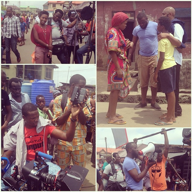 Current situation somewhere near #Kirikiri. #Timothy #AfriNolly #Nollywood