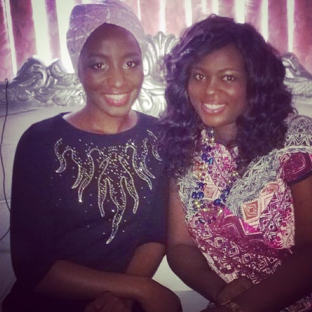 Yesterday with Red Carpet Extra host @oolaheavens. Her show airs 5 days a week on #NTA International #DSTV and #GOTV.