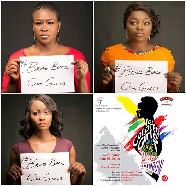 This year's #ForColoredGirls will be singing a black girl's gospel #BringBackOurGirls