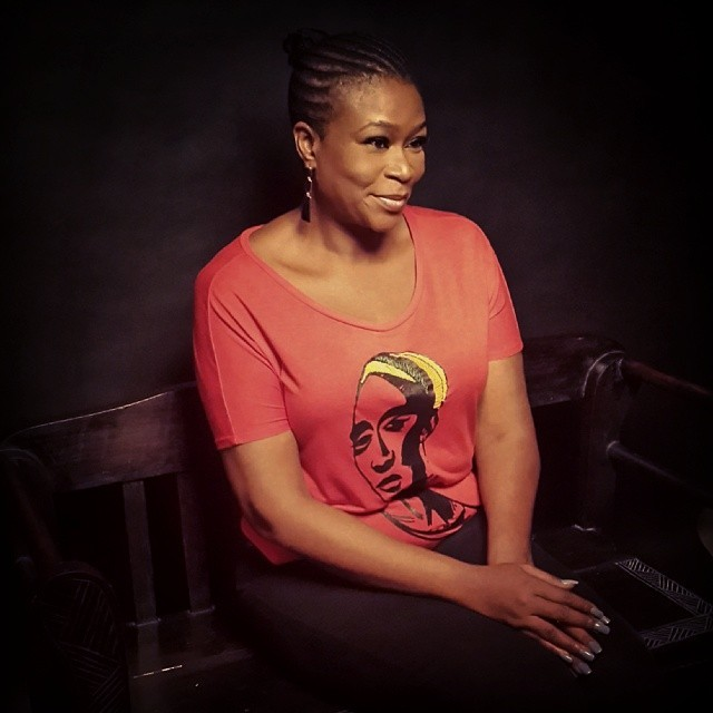 Ladies and gentlemen, Mrs Carol King! You have to see her in full Lady in Red mode on the 15th June 2014 at Eko Hotel.   #ForColoredGirls