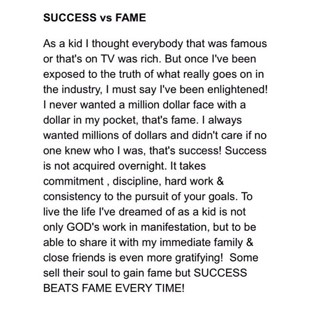 lifeofikes :     Success the aim, fame the by-product.. 🙌