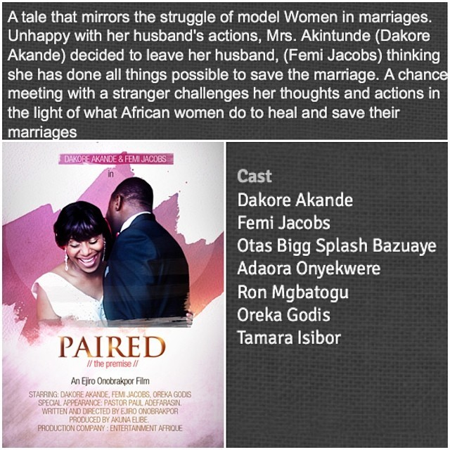 I'm in a short film, #Paired, out now on Dobox.tv