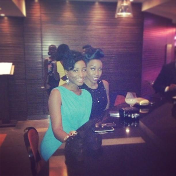 The ever gorgeous @BeverlyNaya #EbonyLifeTV #EbonyLifeTvLaunch after event drinks