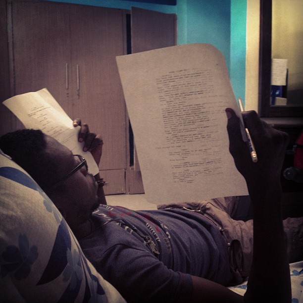 We call him #Sanchez. Work doesn't stop till those pages are covered in approvals. #TV #Film #Director #SlightWork