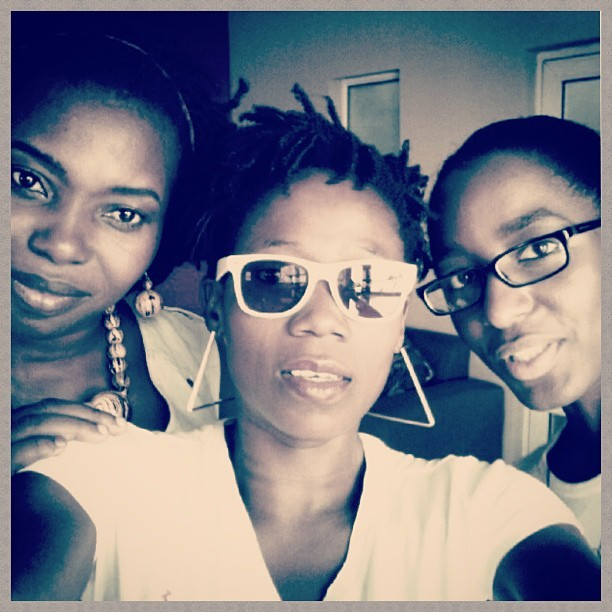 Nicked this from @tosynbucknor. Ijeoma, Tosyn, Oreka: writer's anonymous.