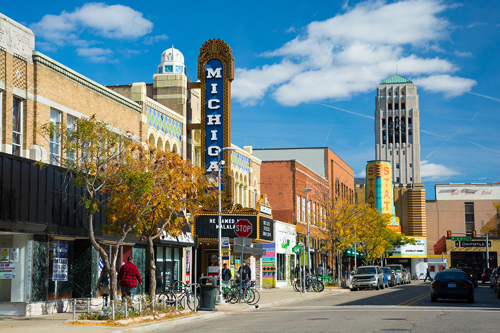 About Ann Arbor - Ann Arbor offers both big city attractions and a hometown atmosphere.The University of Michigan: Ranked #1 Public University in the NationThe University of Michigan Health System: a world-class medical institution that includes 3 hospitals, 6 specialty treatment centers and over 50 clinics and health centers.Ann Arbor has a diverse international food scene: over 300 restaurants, world-class eateries, cafés and delightful farmer's markets.Ann Arbor and its surrounding communities boast a variety of national & independent retail shopping.Enjoy museums, parks, golf courses, theatrical and musical performances, a beautiful college campus and thrilling athletic events.www.visitannarbor.org