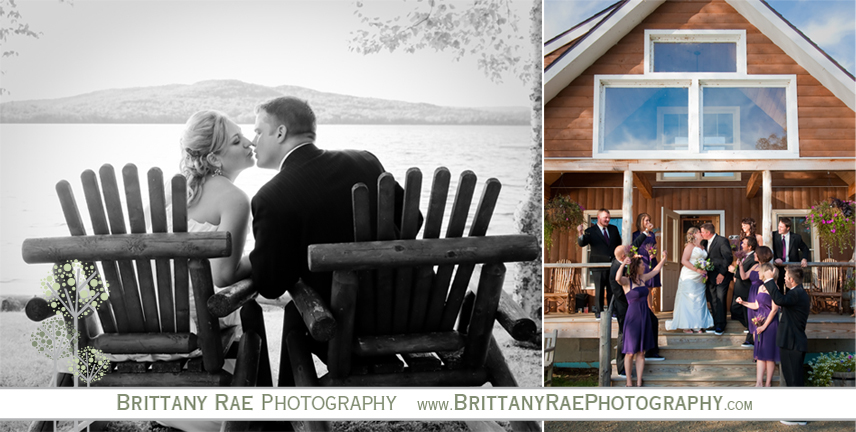 Bald Mountain Camps Wedding Photographer in Rangeley Maine