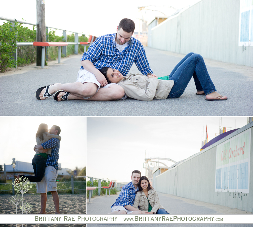 Old Orchard Beach Engagement Session
