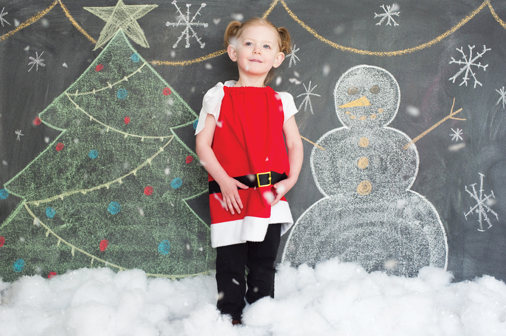Christmas Holiday Mini Chalk Art Sessions in Old ORchard Beach Maine