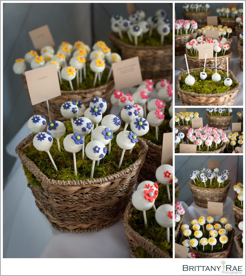 Maine Wedding Cakes - Cake Pops