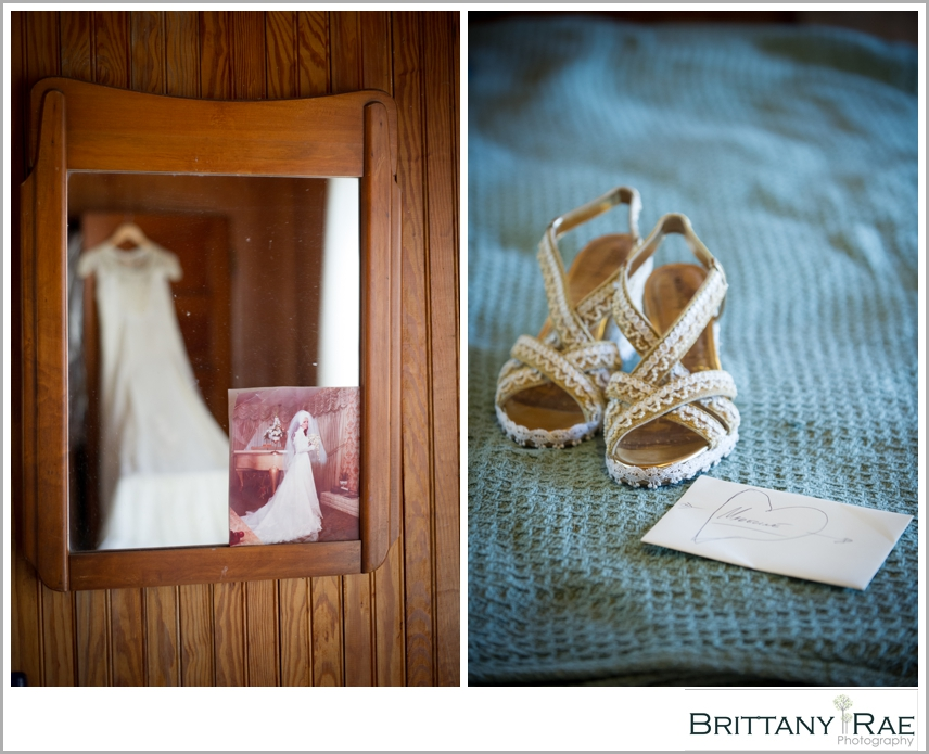 DIY Wedding details, Dress and shoes