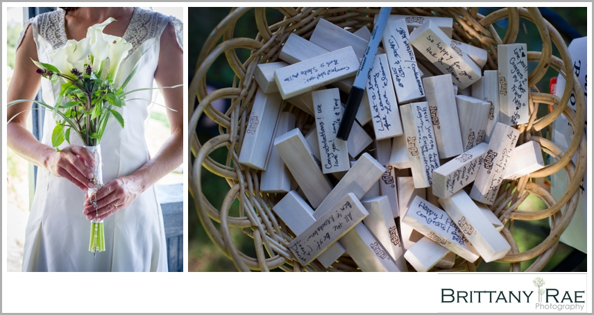 DIY Wedding details, Jenga Game,