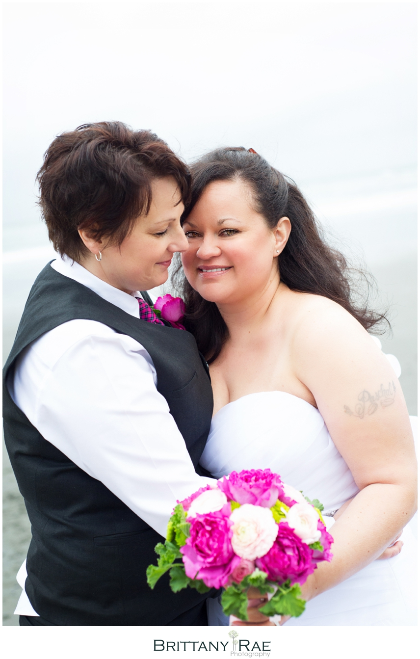 Maine Same Sex Wedding in York Maine - Brittany Rae Photography