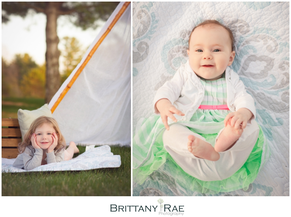 Maine Stylized Family Portraits on the beach