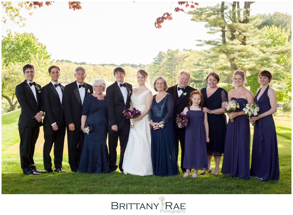 Portland Country Club wedding in Falmouth Maine by Brittany Rae Photography. www.BrittanyRaePhotography.com
