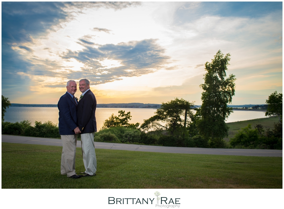Dave & Mark marry at The Black Point Inn in Scarborough by Brittany Rae Photography