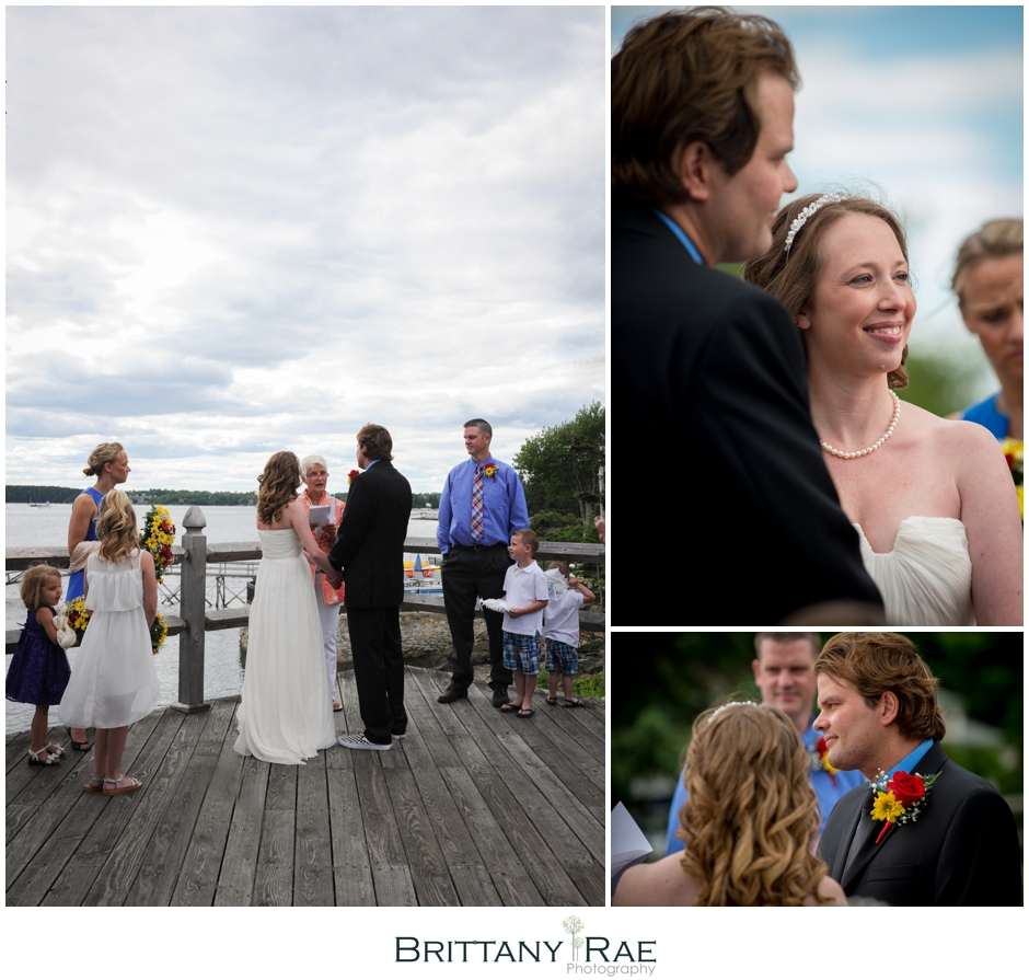 Spruce Point Inn Boothbay Harbor Wedding Photographer Brittany Rae Photography