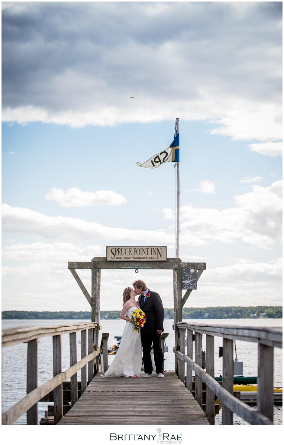 Spruce Point Inn Boothbay Harbor Wedding Photographer Brittany Rae Photography